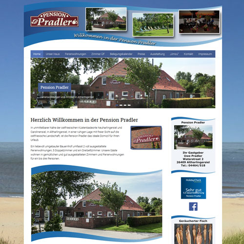 Pension Pradler Altharlingersiel